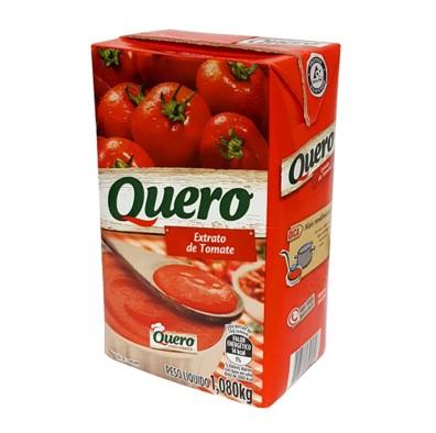 Extrato de tomate  1,08kg Quero Tetra Pak UN