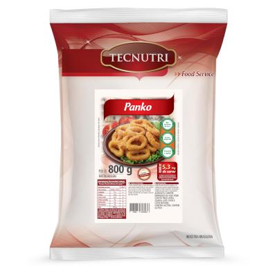 Farinha de empanar flocada pacote 800g Panko/Tecnutri PCT