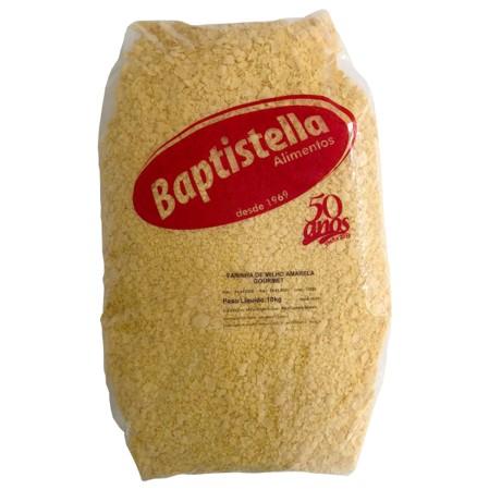 Farinha de milho  10kg Brasil/Baptistella pacote PCT