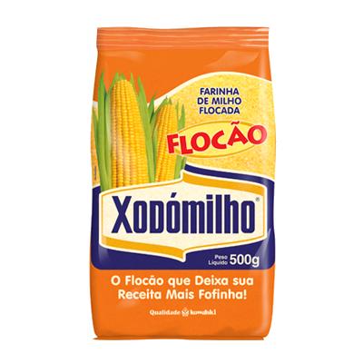 Farinha de milho pacote 500g Xodomilho PCT