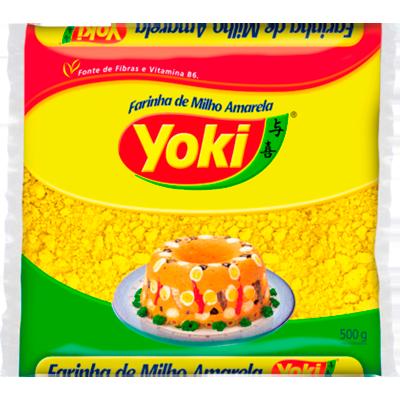 Farinha de milho pacote 500g Yoki PCT