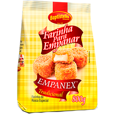 Farinha de rosca  800g Empanex/Baptistella pacote PCT