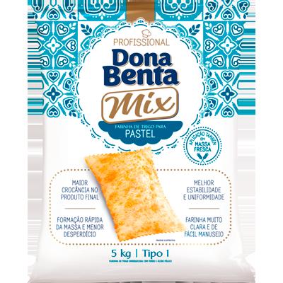 Farinha de trigo especial para pastel 5kg Dona Benta pacote PCT