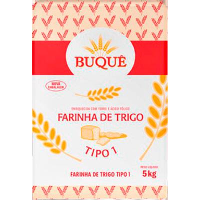 Farinha de trigo  5kg Buquê pacote PCT