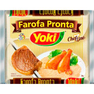 Farofa de mandioca 2kg Yoki pacote UN