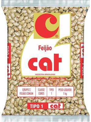 Feijão Fradinho  1kg Cat pacote PCT