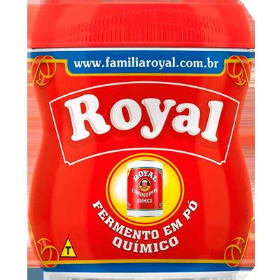 Fermento em pó químico 250g Royal pote UN