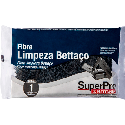 Fibra de limpeza Bettaço unidade Bettanin/SuperPro UN