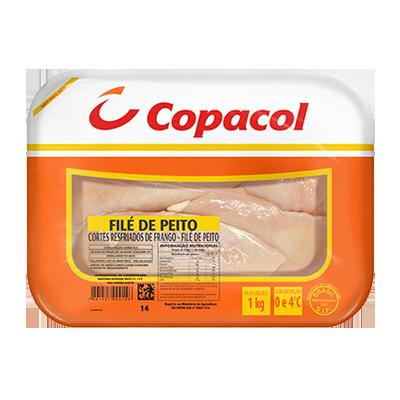 Filé de Frango sem sassami congelado por kg Copacol KG