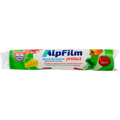 Filme de PVC (280 x 15m) Flow unidade Alpfilm UN