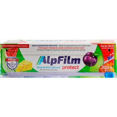 Filme de PVC 28cm x 300m com faca deslizante unidade Alpfilm UN