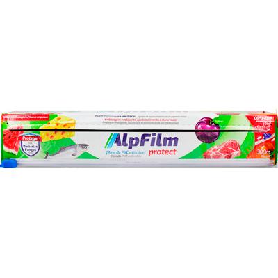 Filme de PVC 45cm x 300m com faca deslizante unidade Alpfilm  UN