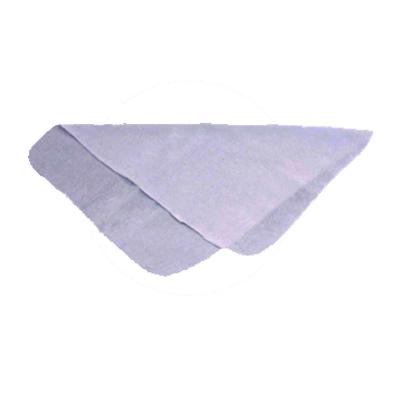 Flanela para limpeza branca tamanho médio unidade Caue UN