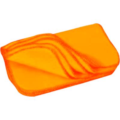 Flanela para limpeza laranja tamanho médio unidade Bresser  UN