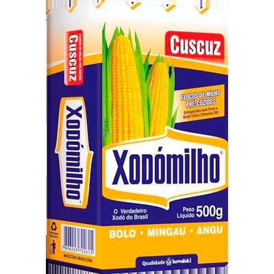 Flocos de milho 500g Xodomilho pacote PCT