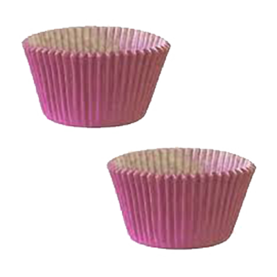 Forminha para cupcake rosa n°0 20 unidades Master Clean pacote PCT