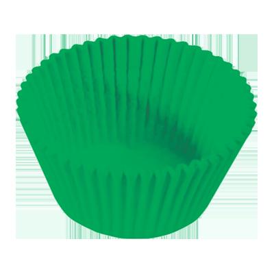 Forminha para cupcake verde n°0 pacote 20 unidades Master Clean PCT