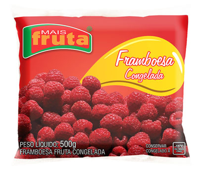 Framboesa congelada 100g Mais Fruta  UN