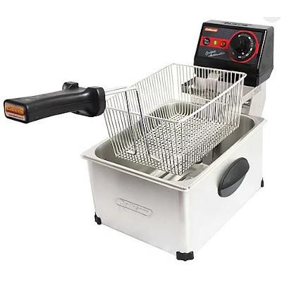 Fritadeira elétrica inox 1 cuba 5 litros 110v unidade Cotherm  UN