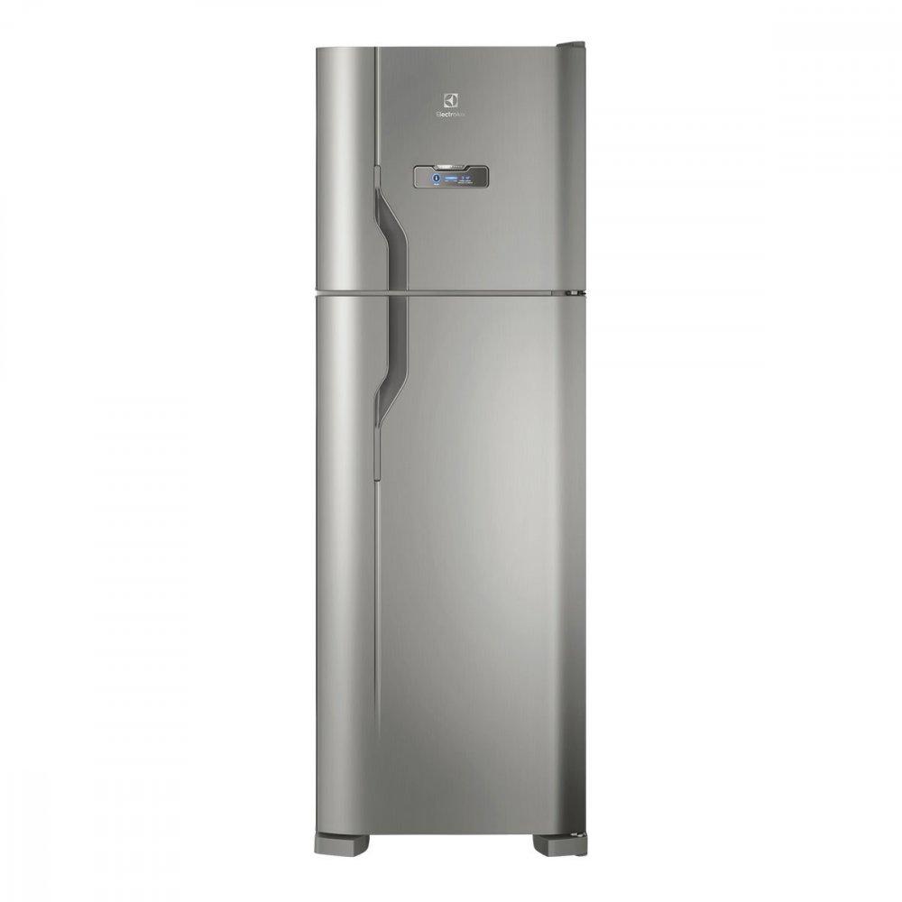 Geladeira Degelo Automático 2 Portas DFX41 371 Litros Inox 220v unidade Electrolux  UN