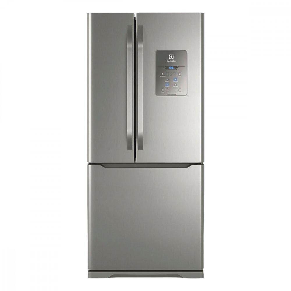 Geladeira Degelo Automático Multi Door 3 Portas DM84X 579 Litros Inox 110v unidade Electrolux  UN