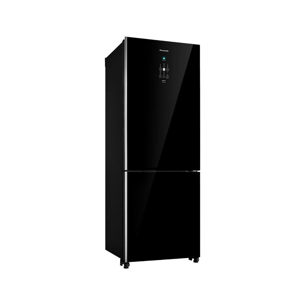 Geladeira Degelo Frost Free Bottom Freezer 2 Portas NR-BB71GVFBA 450 Litros Preta 220v unidade Panasonic  UN