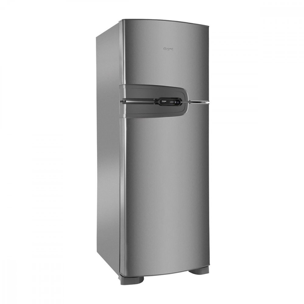 Geladeira Frost Free 2 Portas CRM43NK 386 Litros Inox 220v unidade Consul  UN