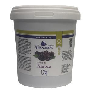 Geleia sabor Amora 1,2kg Queensberry balde BD