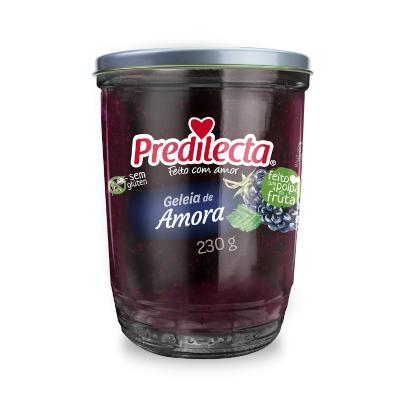 Geleia sabor Amora 230g Predilecta pote UN