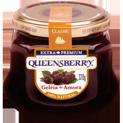 Geleia sabor Amora 320g Queensberry pote UN