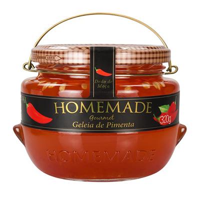 Geleia sabor pimenta pote 320g Homemade UN