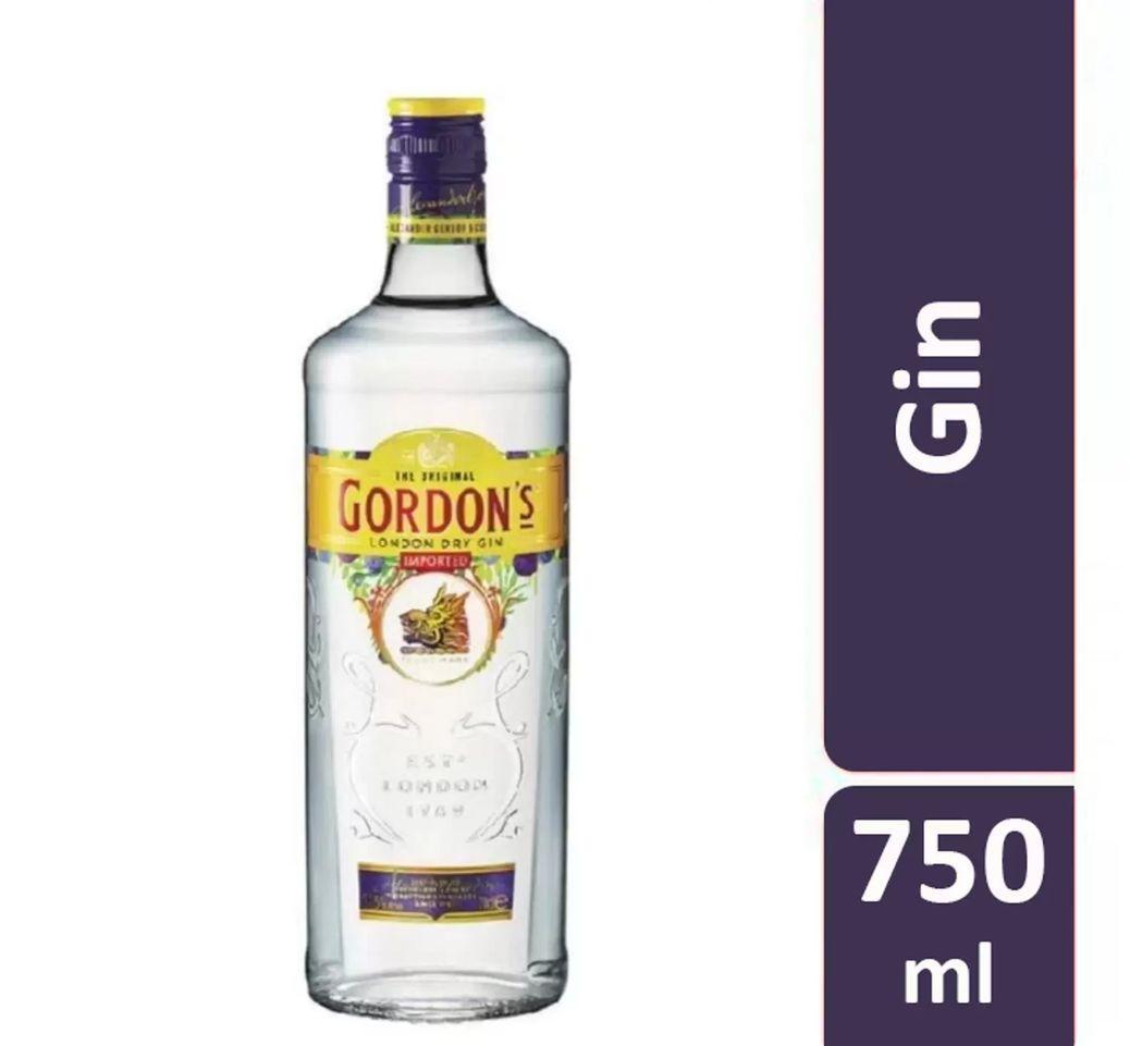 Gin  750ml Gordon's garrafa UN