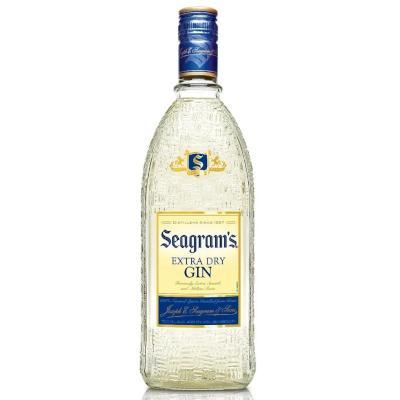 Gin garrafa 750ml Seagram's UN