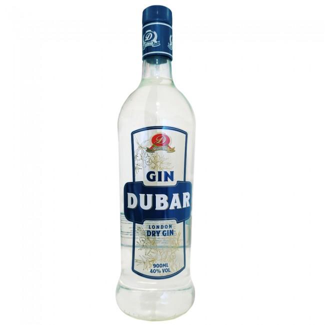 Gin  900ml Dubar garrafa UN