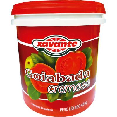 Goiabada cremosa 4,8kg Xavante balde BD