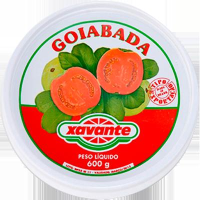 Goiabada  600g Xavante lata UN