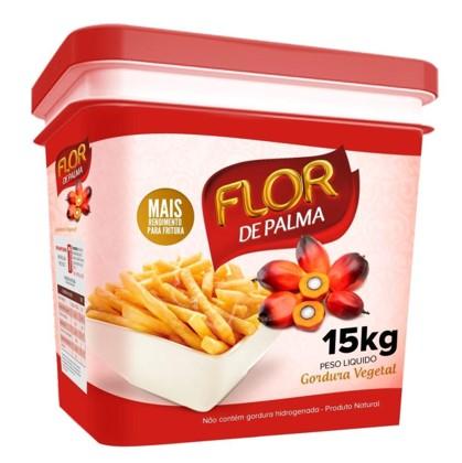 Gordura vegetal de palma por Kg (balde de 14 a 15kg) Flor de Palma KG