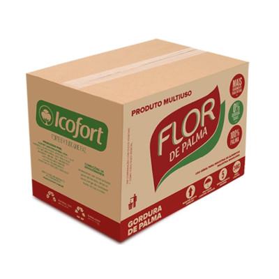 Gordura vegetal de palma por Kg (caixa de 24kg) Flor de Palma KG