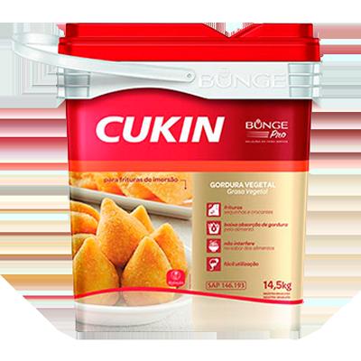 Gordura vegetal líquida 14,5kg Bunge Cukin balde BD
