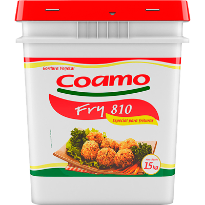 Gordura vegetal líquida 15kg Coamo Fry balde BD