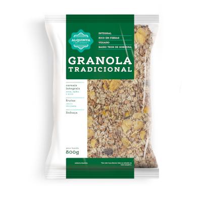Granola tradicional 800g Alkimia pacote PCT