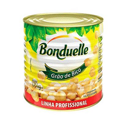 Grão de Bico em conserva lata 1,75kg Bonduelle UN