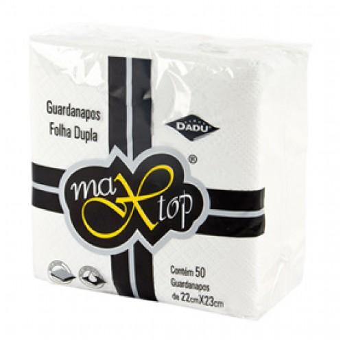 Guardanapo de Papel Folha Dupla 22cm x 23cm 50 folhas Dadu/Max Top pacote PCT