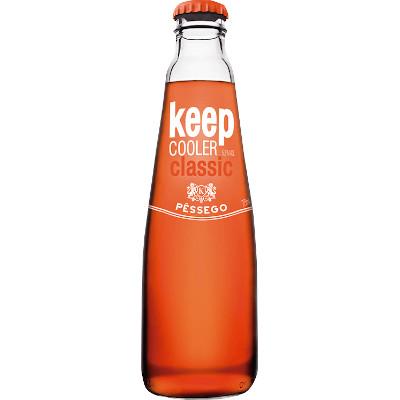 xxKeep Cooler sabor pêssego 275ml Keep Coller long neck UN