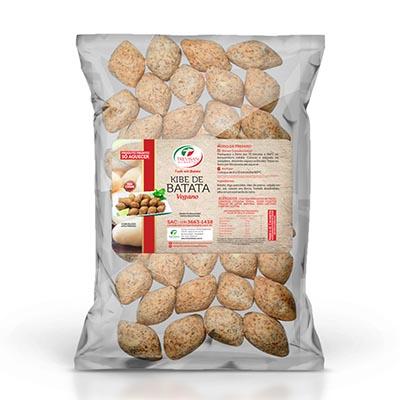 Kibe de Batata vegano congelado 25g por kg Trevisan  KG