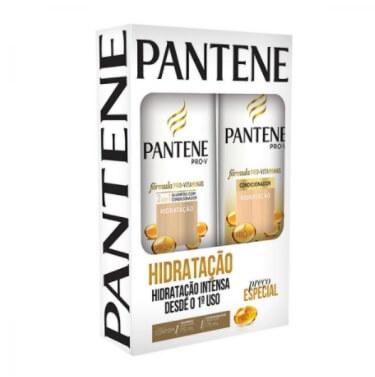Kit contém Shampoo 175ml e Condicionador 175ml Hidratação unidade Pantene  UN