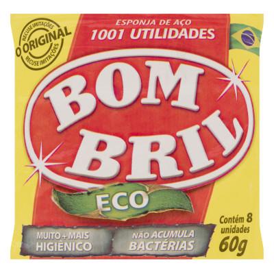 Lã de aço pacote 60g Bombril PCT