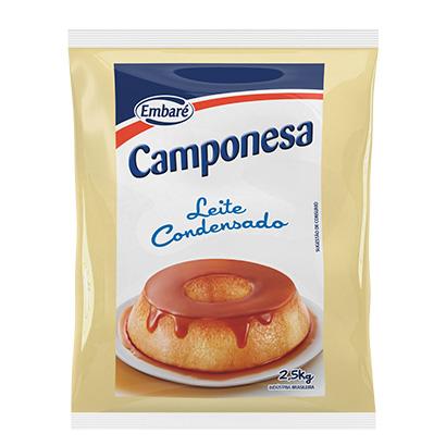 Leite Condensado  2,5kg Embaré/Camponesa bag BAG