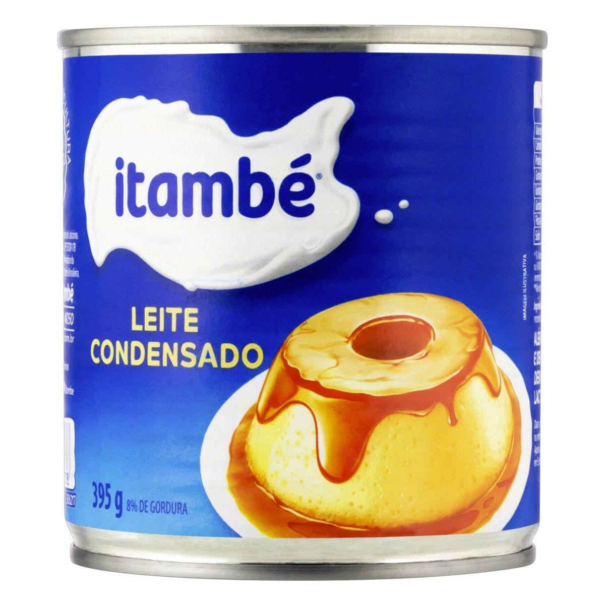 Leite Condensado  395g Itambé lata UN