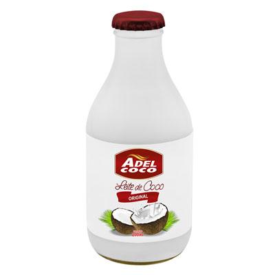 Leite de Coco  200ml Adelcoco garrafa UN